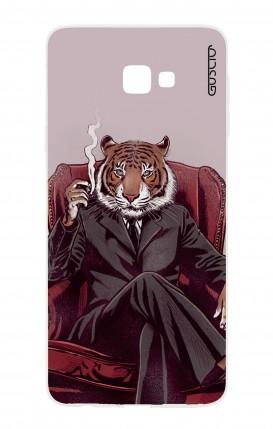 Cover Samsung Galaxy J4 Plus - Tigre elegante
