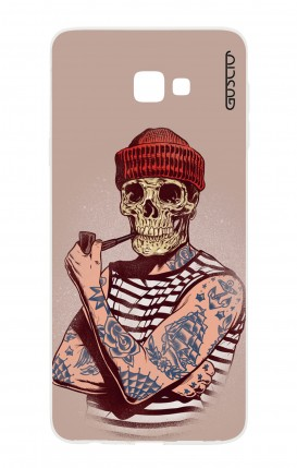 Case Samsung Galaxy J4 PLUS - Skull Sailor with Red Cup