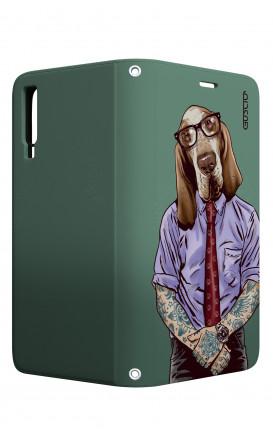 Cover STAND Samsung A7 2018 - Bracco italiano tatuato
