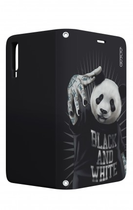 Case STAND VStyle Samsung A7 2018 - B&W Panda