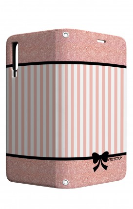Cover STAND Samsung A7 2018 - Rosa romantico
