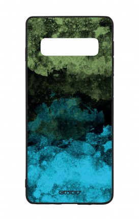Samsung S10Plus WHT Two-Component Cover - Mineral Black Lime