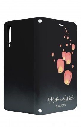 Case STAND VStyle Samsung A7 2018 - Make a wish