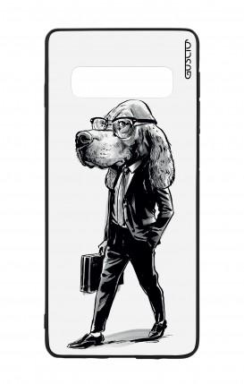 Cover Bicomponente Samsung S10Plus - Business Dog