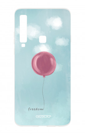 Cover TPU Samsung Galaxy A9 - palloncino della libertà