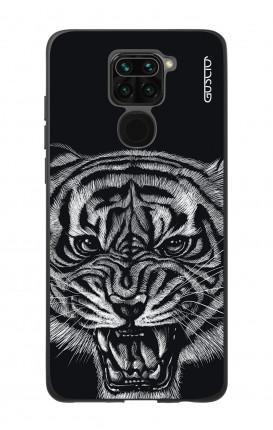 Cover Bicomponente Xiaomi Redmi Note 9 - Tigre nera