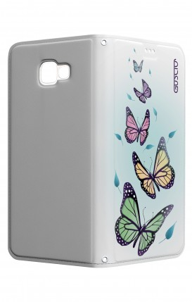 Cover STAND SAMSUNG A5 2017 - Farfalle & foglie