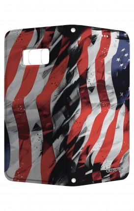 Cover STAND SAMSUNG S8 - Bandiera americana