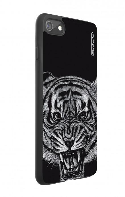 Cover Bicomponente Apple iPhone 7/8 - Tigre nera