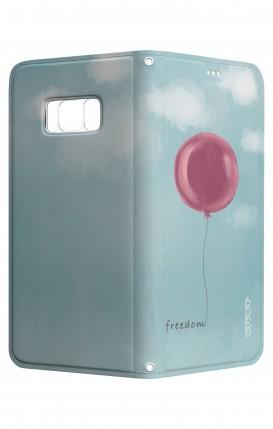 Cover STAND SAMSUNG S8 - palloncino della libertà