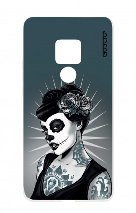Case HUAWEI Mate 20 - Calavera Grey Shades