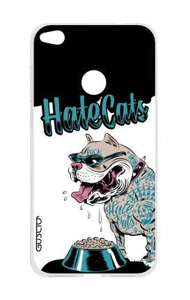 Cover TPU HUAWEI P8 Lite (2017) - Hate Cats
