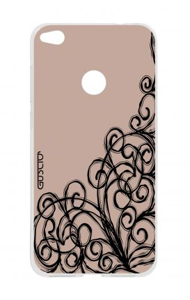 Cover HUAWEI P8 Lite (2017) - Lace Chocolate