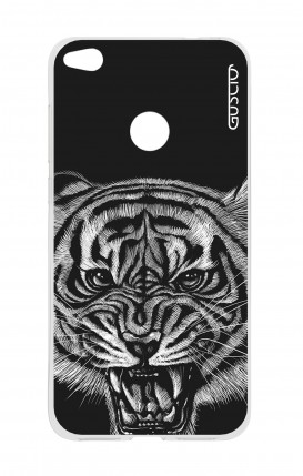 Cover HUAWEI P8 Lite (2017) - Tigre nera