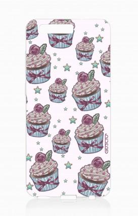 Cover HUAWEI P10 - Sweet Cupcake Pattern
