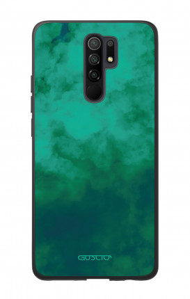 Cover Bicomponente Xiaomi Redmi 9 - Emerald Cloud