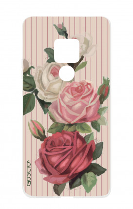 Case HUAWEI Mate 20 - Roses and stripes