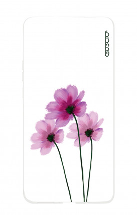 Case HUAWEI Mate 20 - Flowers on white