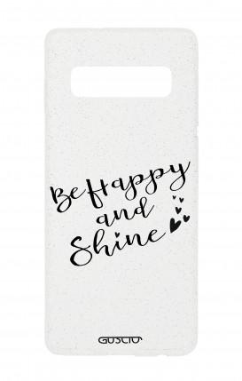Cover Glitter Soft Samsung S10 - Sii felice e brilla