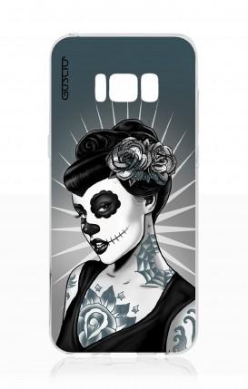 Cover Samsung S8 - Calavera Grey Shades