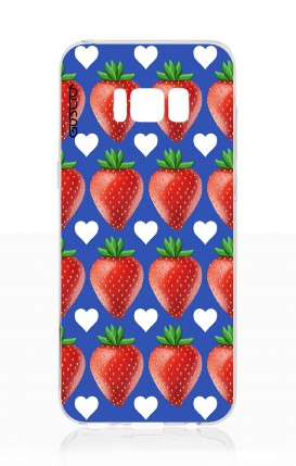 Cover Samsung S8 - Strawberry pattern