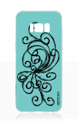 Cover Samsung S8 - Pizzo turchese