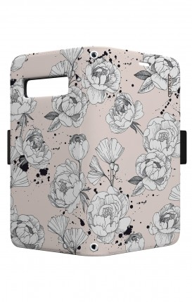 Case STAND VStyle EARS Samsung S10 Plus - Peonias