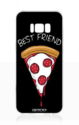 Cover TPU Samsung S8 - Best Friend Pizza