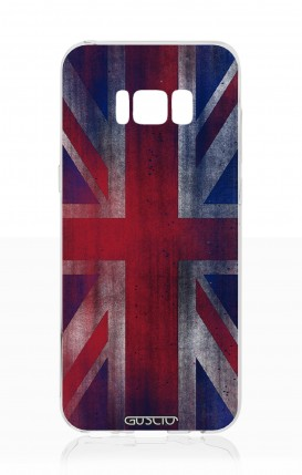 Cover Samsung S8 - Bandiera inglese vintage