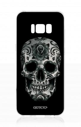 Cover Samsung S8 - Dark Calavera Skull