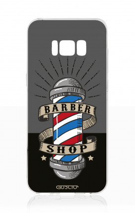 Cover TPU Samsung S8 - Barber Shop Banner