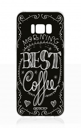 Cover Samsung S8 - Best Coffee