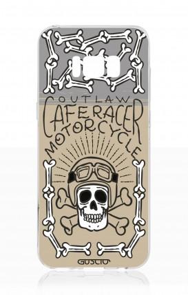 Cover Samsung S8 - Cafe Racer Skull