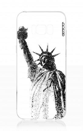 Cover Samsung S8 - Statua della libertà