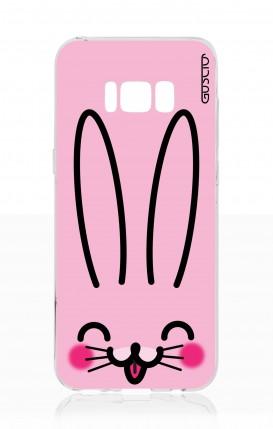Cover Samsung S8 - Coniglietto rosa
