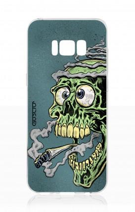Cover Samsung S8 - mostro che fuma
