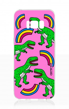 Cover Samsung S8 - T-Rex pattern
