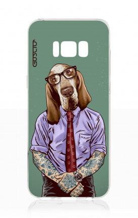 Cover TPU Samsung S8 Plus - Bracco italiano tatuato