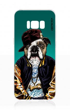 Cover TPU Samsung S8 Plus - Bulldog inglese