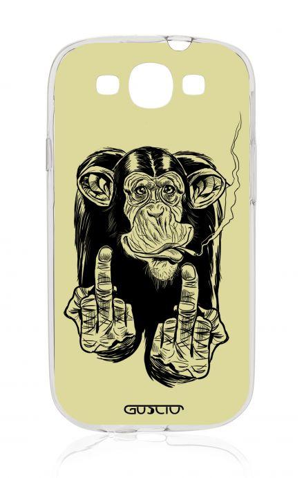 Cover Samsung Galaxy S3/S3 Neo - Scimmia che fuma