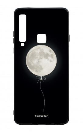 Samsung A9 2018 WHT Two-Component Cover - Moon Balloon