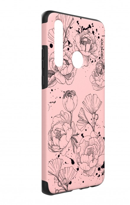 Cover LG Optimus G2 - Rose Skull Zoom