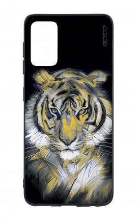 Cover Bicomponente Samsung S20Plus - Tigre neon
