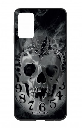 Samsung S20Plus Two-Component Cover - Skull & Clock