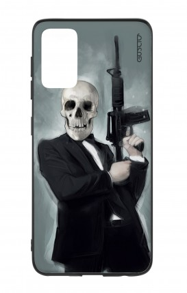 Samsung S20Plus Two-Component Cover - Skull with Tommy-Gun