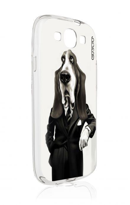 Cover Samsung Galaxy S3 GT i9300 - Elegant Bassethound