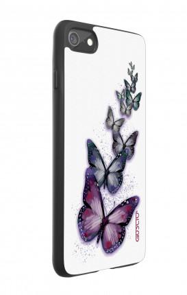 Cover Bicomponente Apple iPhone 7/8 - Volo di farfalle