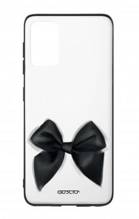 Cover Bicomponente Samsung S20Plus - Fiocco nero