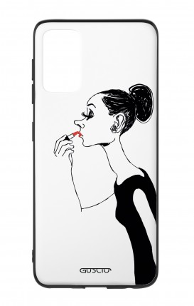 Samsung S20Plus Two-Component Cover - Lady with Lipstick