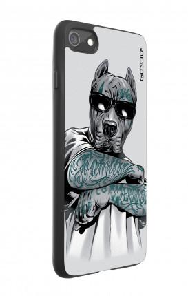 Cover Bicomponente Apple iPhone 7/8 - Pitbull tatuato